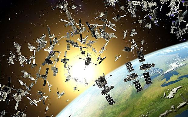Műholdak a föld körül