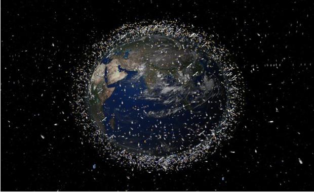 Űrszemét a Föld körül
